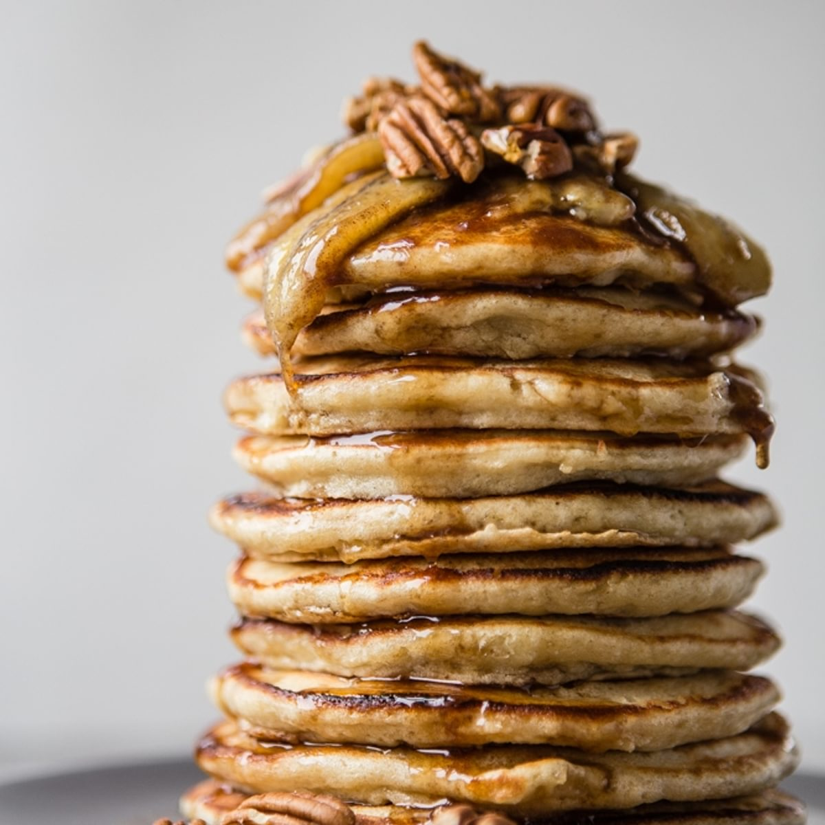 Banana Pancakes With Caramelized Bananas And The Modern Proper