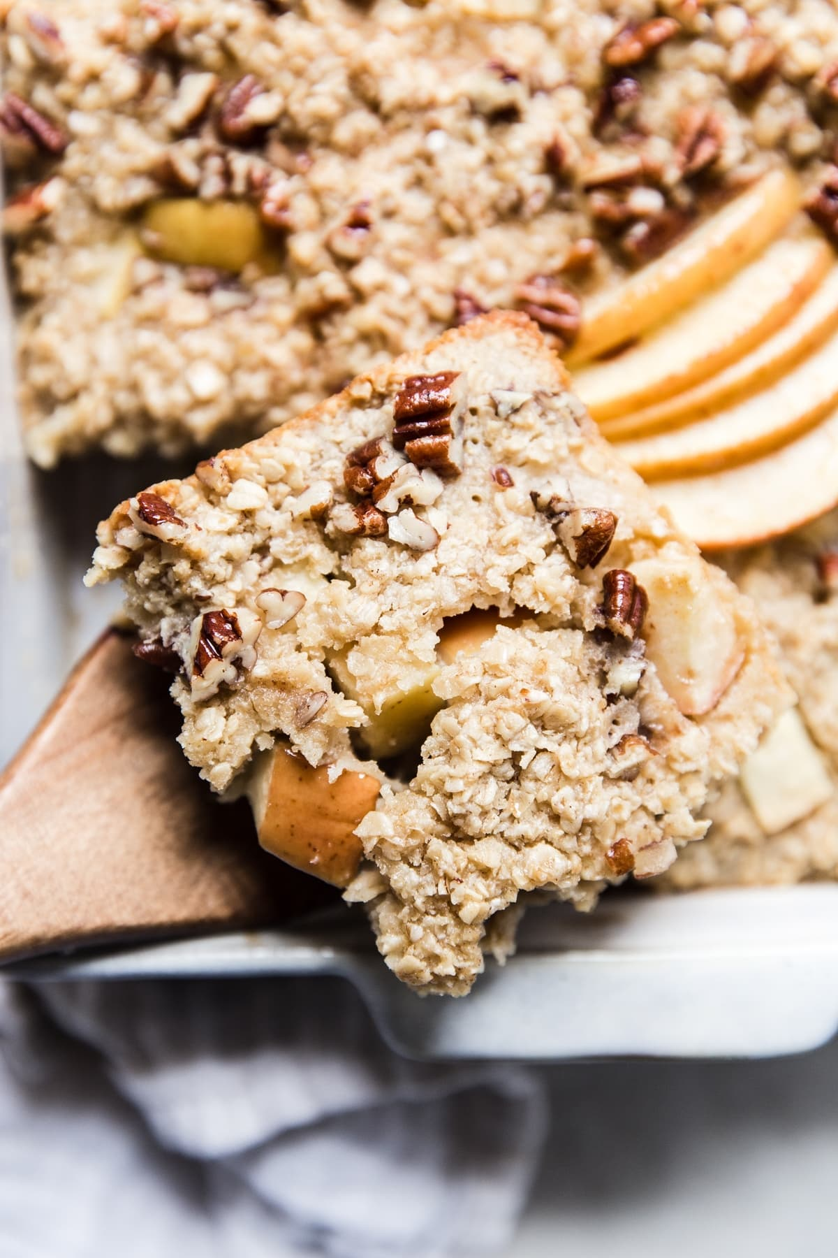 Apple And Maple Baked Oatmeal The Modern Proper