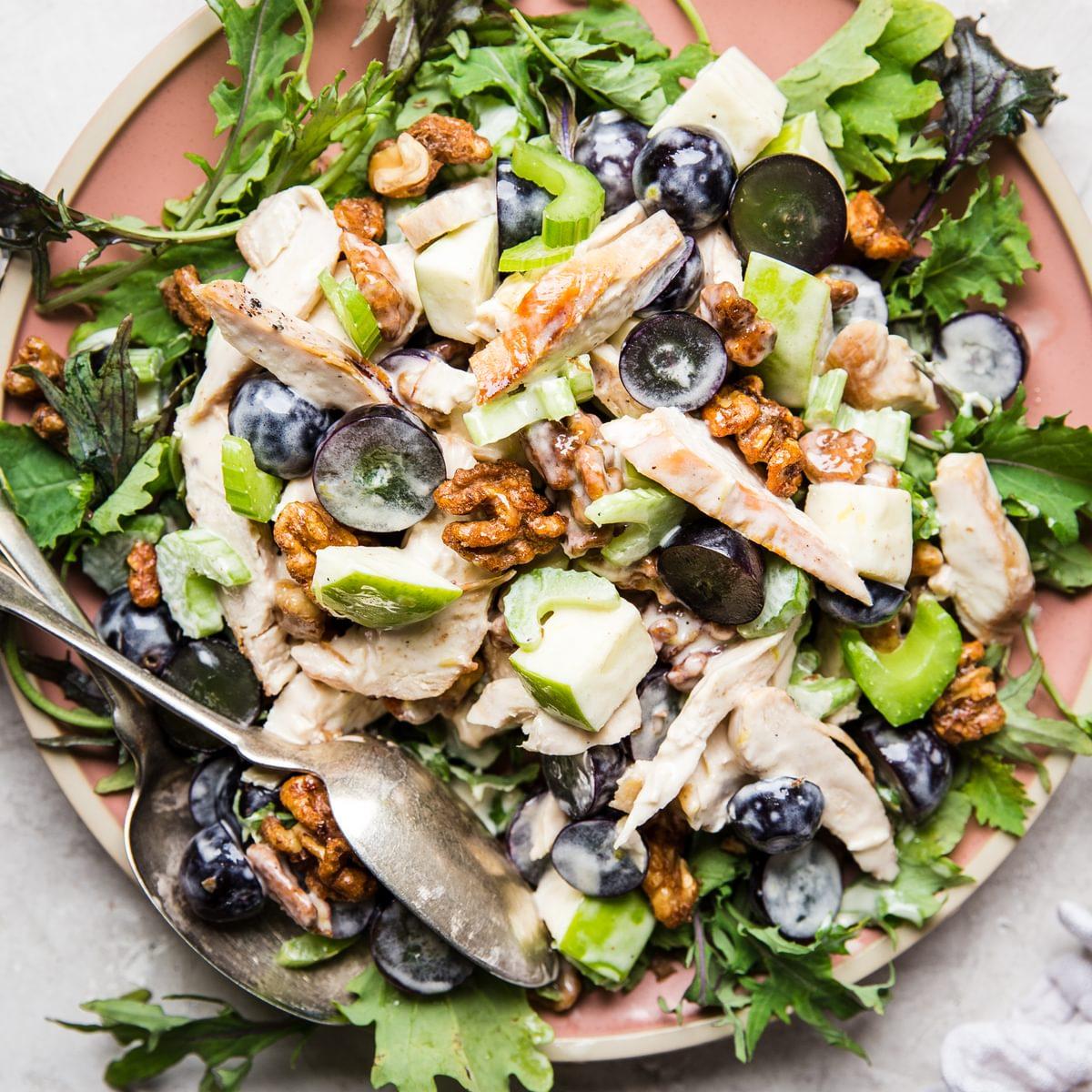 Easy Chicken Waldorf Salad Recipe