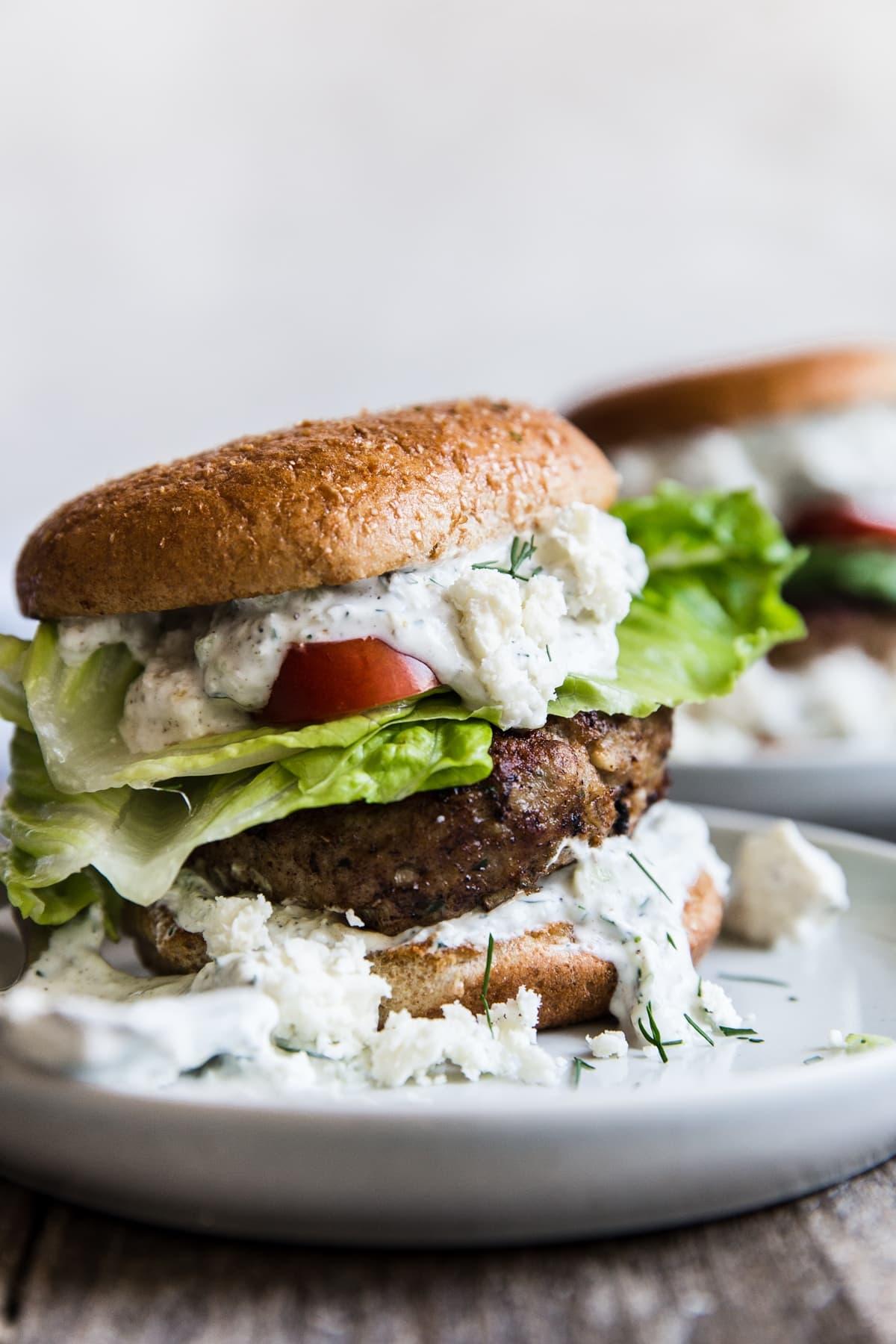 Mediterranean Turkey Burger The Modern Proper