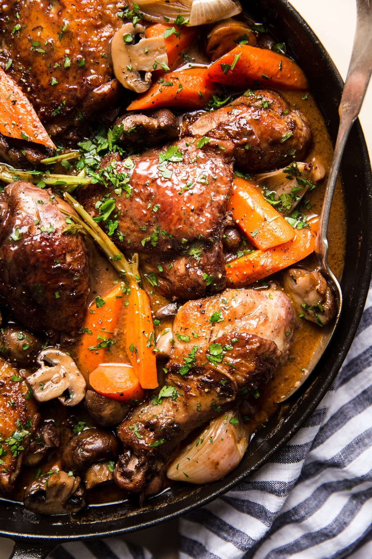 Easy Chicken Coq Au Vin Recipe The Modern Proper