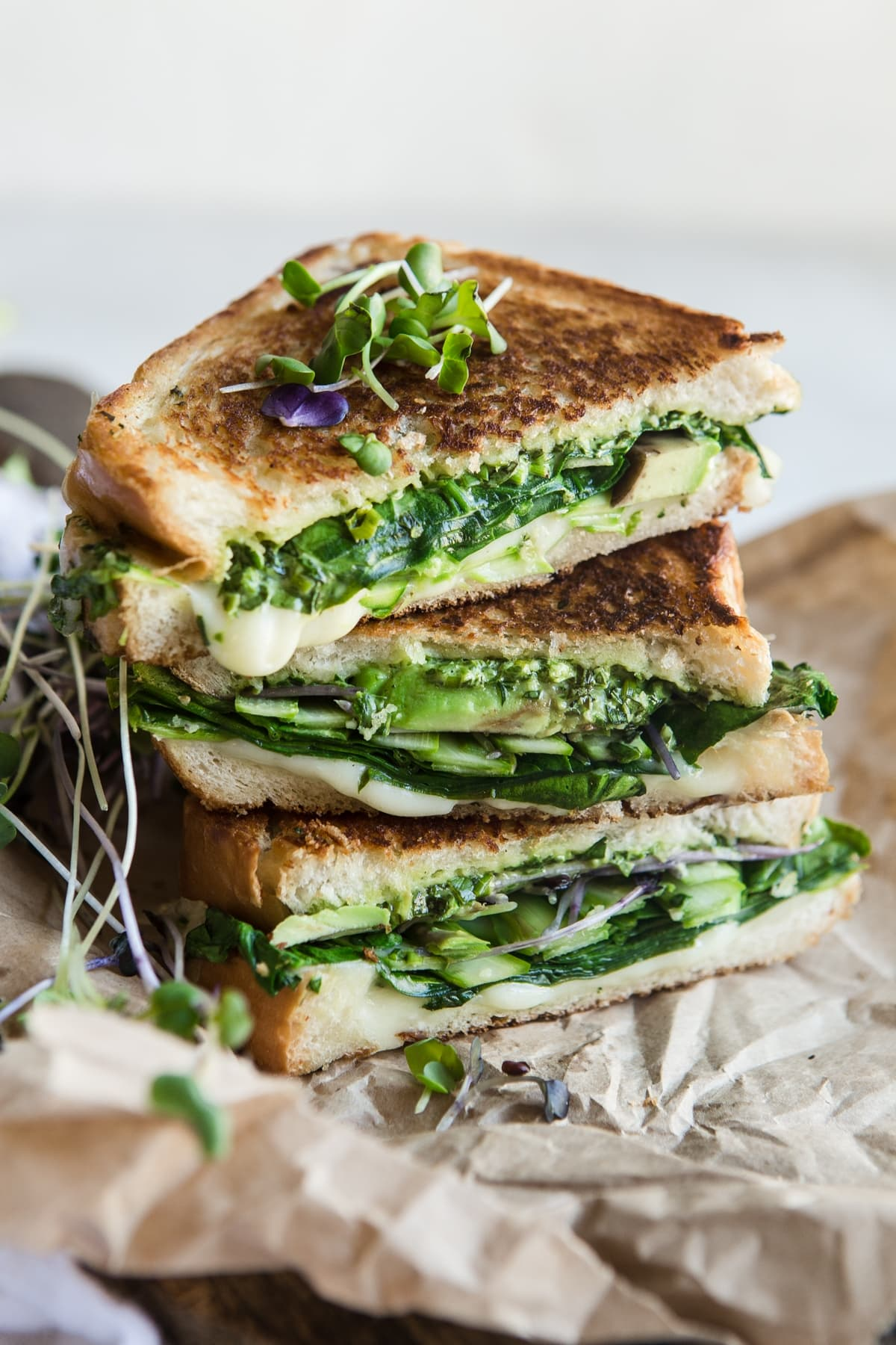 Green Goddess Grilled Cheese Sandwich The Modern Proper