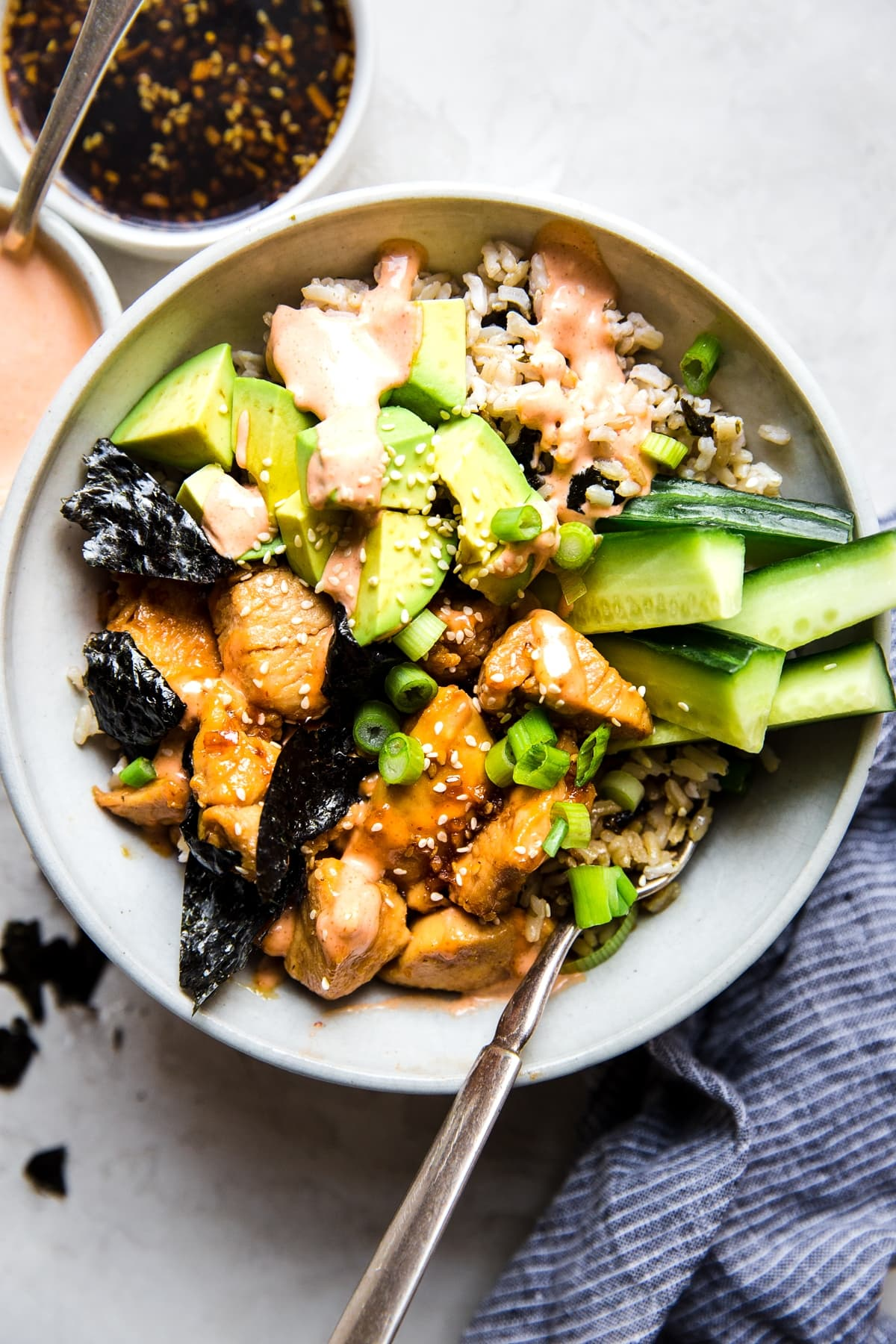 Chicken Teriyaki Sushi Bowl The Modern Proper