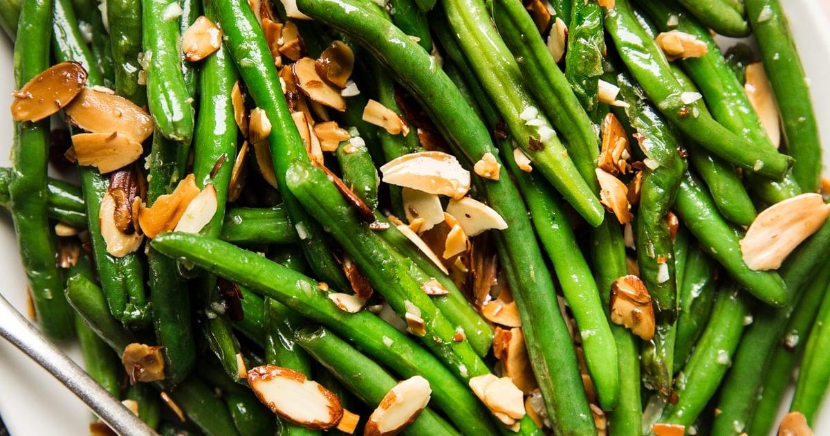 Green Beans Almondine | The Modern Proper