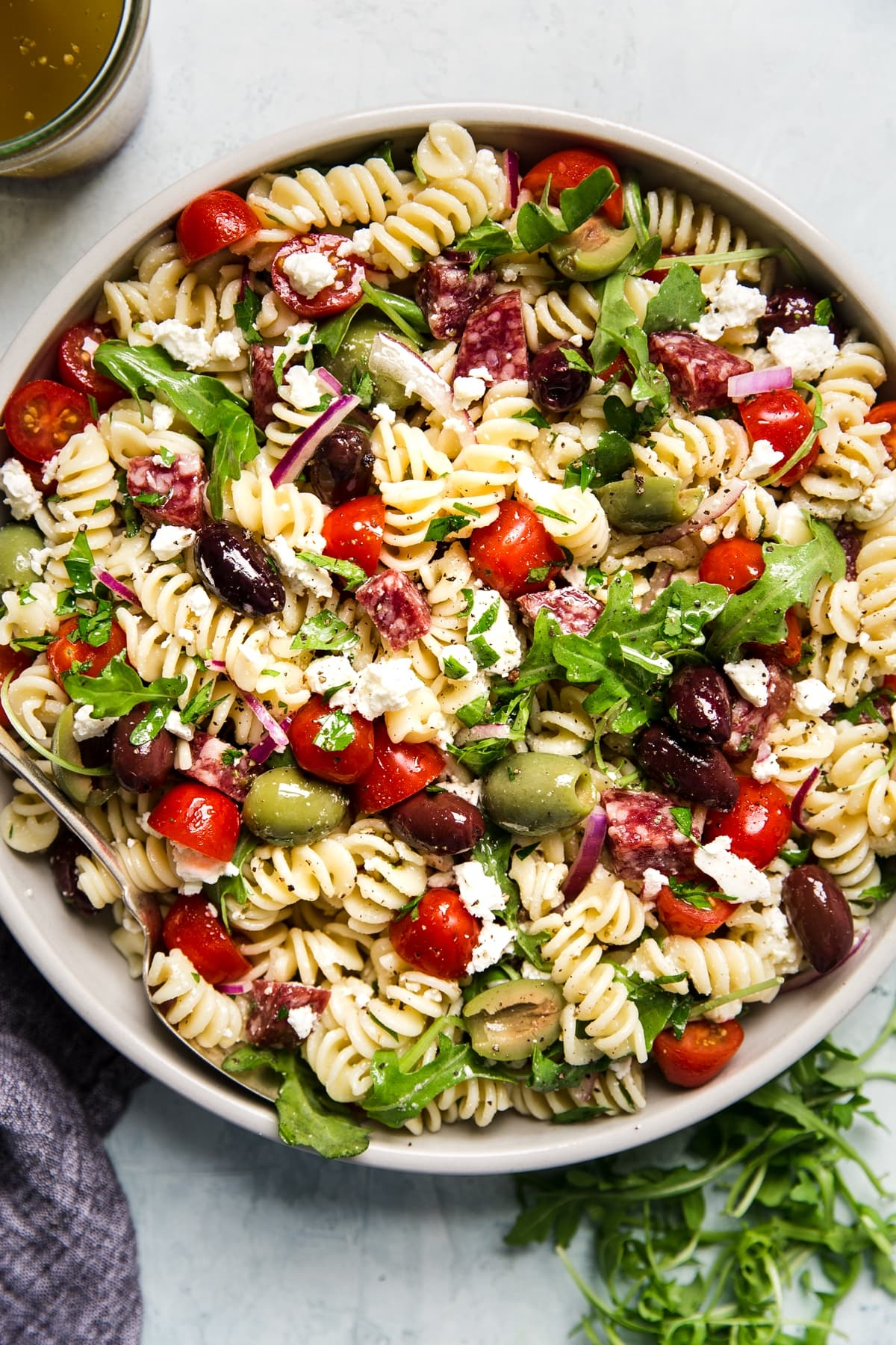 Mediterranean Pasta Salad The Modern Proper