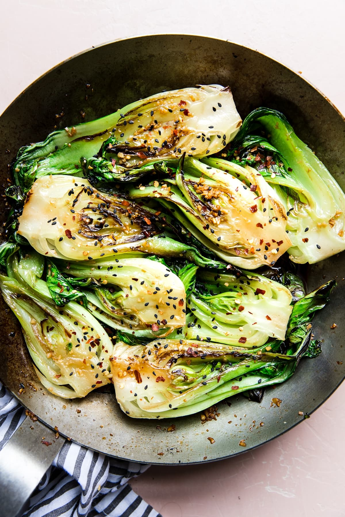 Stir Fried Baby Bok Choy The Modern Proper
