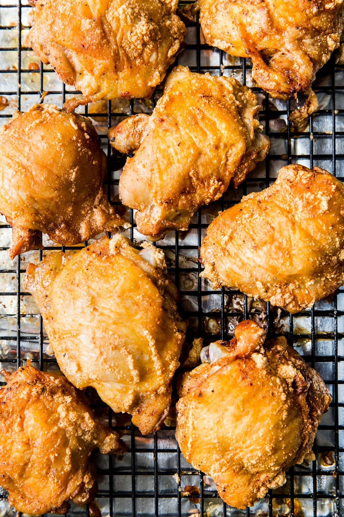 Crispy Baked Chicken Thighs Recipe The Modern Proper