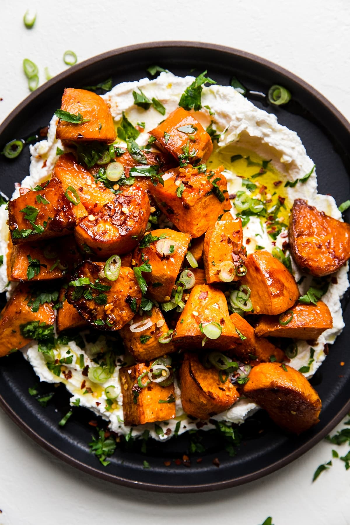 Oven Roasted Sweet Potatoes Recipe With Honey And The Modern Proper