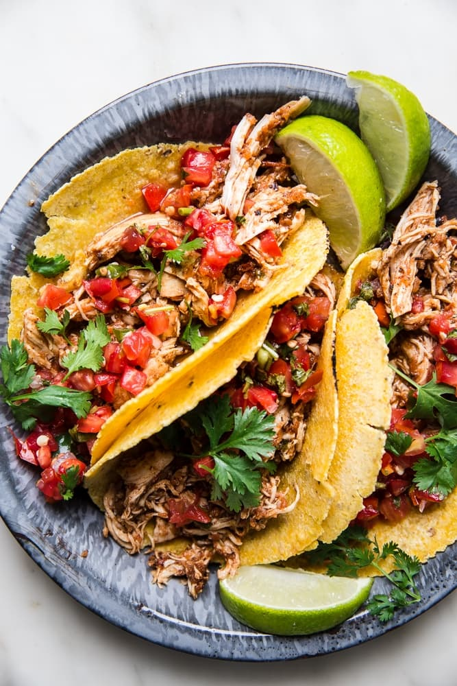 Crock Pot Chicken Taco Meat The Modern Proper