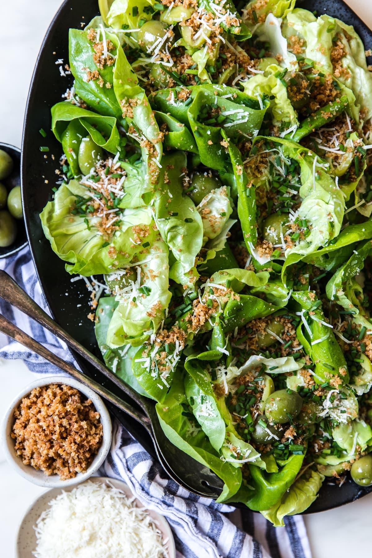 Simple Butter Lettuce Salad The Modern Proper