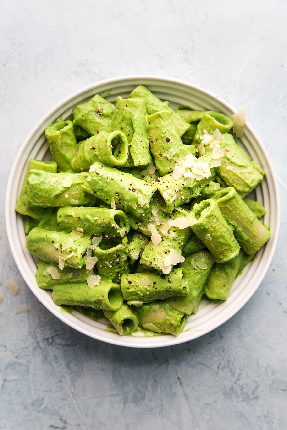 Brokkoli-Pesto Pasta Einfache Rezepte